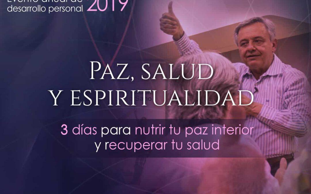 Retiro Paz, Salud y Espiritualidad Mayo 2019, Madrid – Dr. Jorge Carvajal