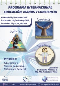 Fechas del programa_EducacionManosConcienciaLima2019