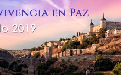 Actividades en España por la Paz, Mayo 2019. Construir un Mundo Mejor