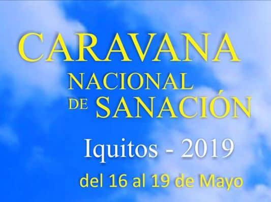 Caravana de Sanación en Iquitos 2019 Peru