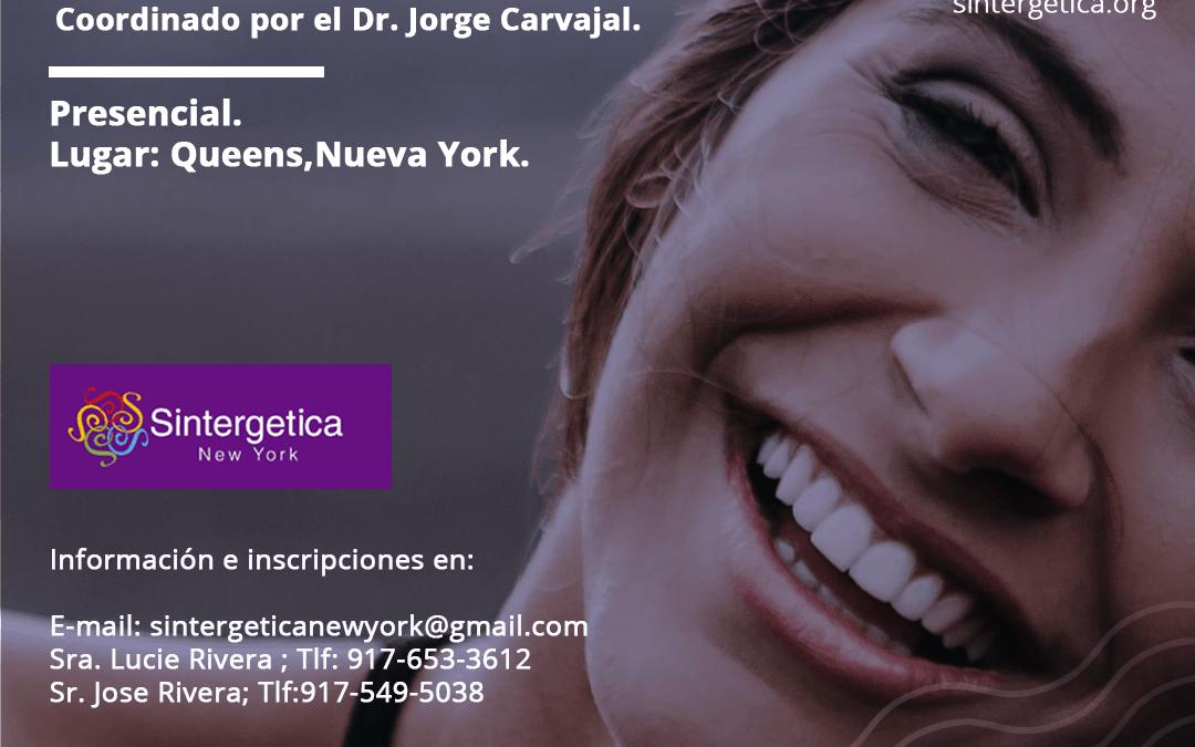 Inicio Formación Manos para Sanar en Nueva York, 28 Septiembre 2019