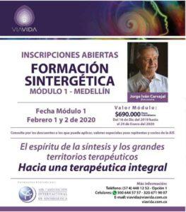 Sintergetica I Medellin Jorge Carvajal