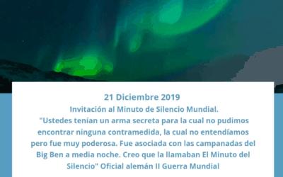 El Minuto de Silencio Global y Semana del Festival Mundial de Servidores