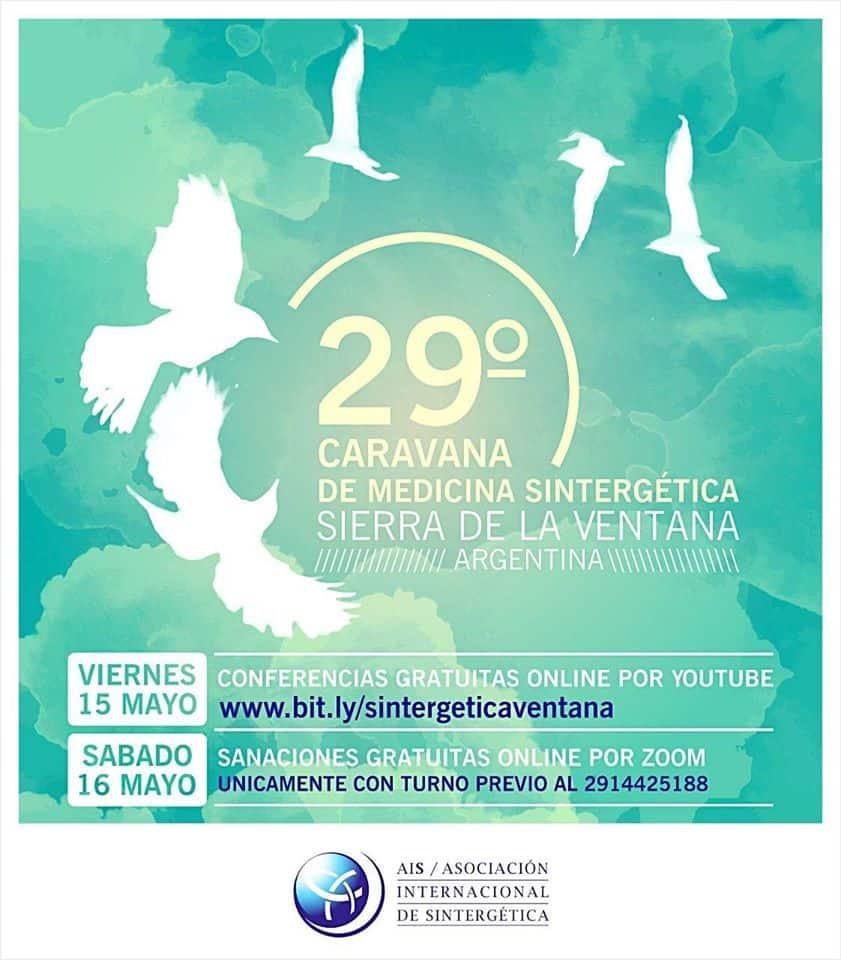 Caravana Sintergética Sierra de la Ventana Argentina | Mayo 15 al 17 de 2020
