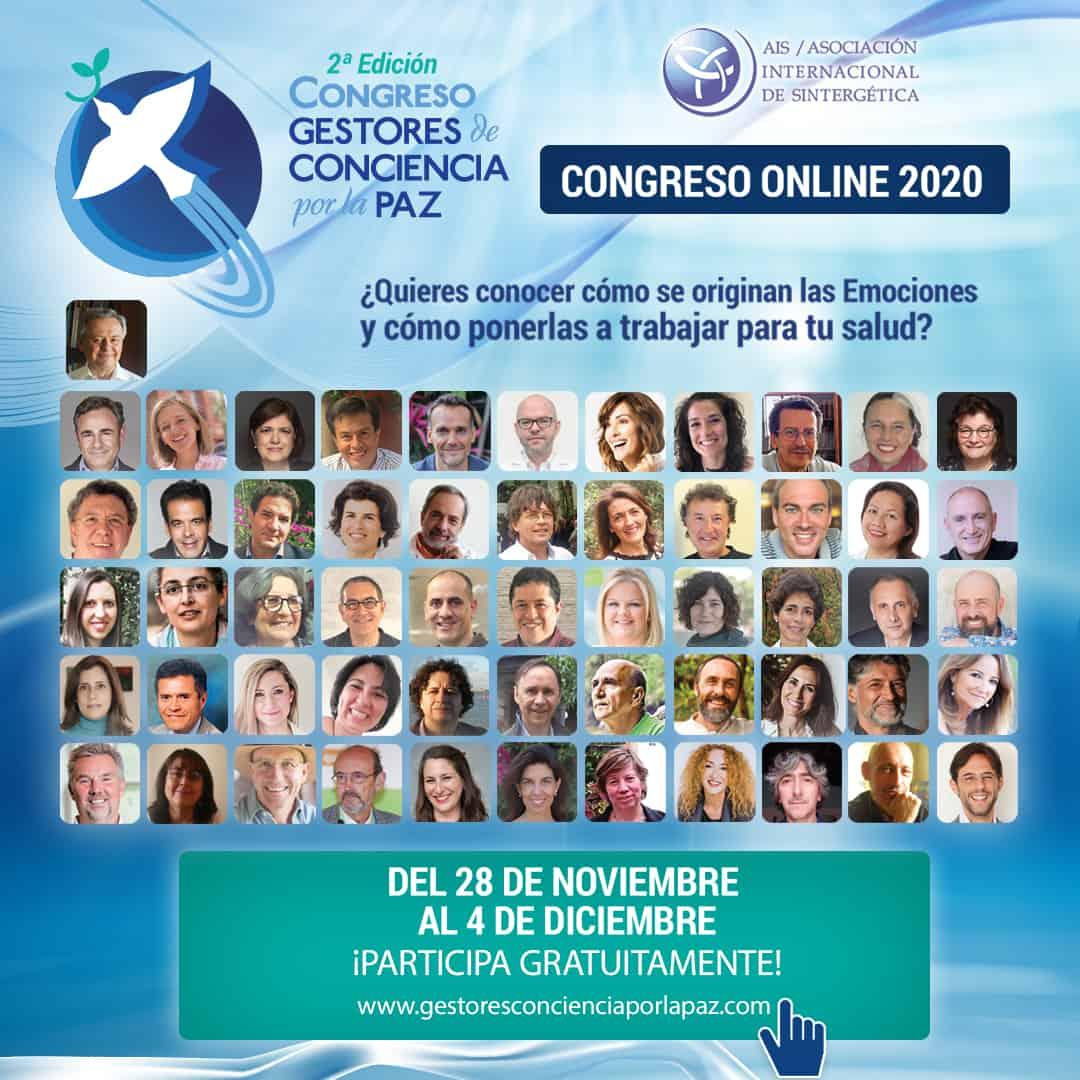 Congreso Online Gratuito  2ª Edición Gestores de Conciencia por la Paz