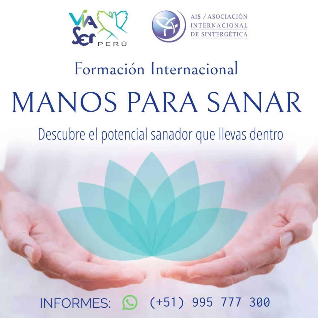 Formación en Manos para Sanar Módulo V ONLINE – | (Perú) Lima |  2021/2022