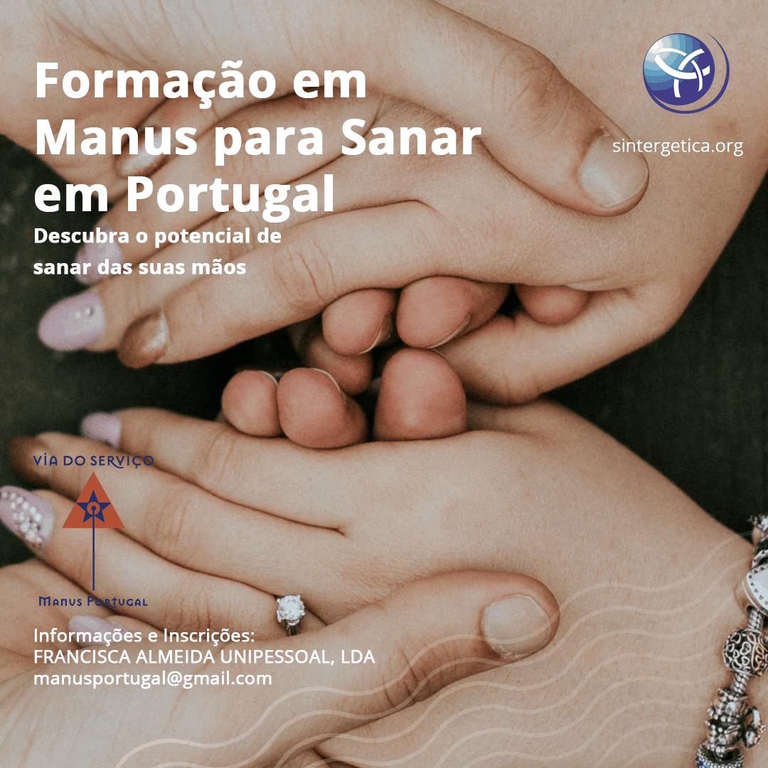 Formação de Manus para Sanar   Módulo 5 (Fatima – Portugal)   2021 – Presencial