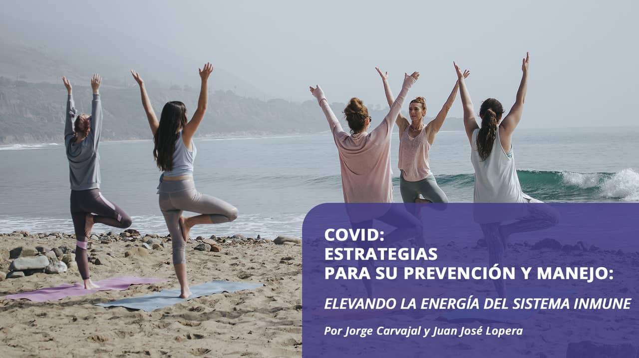 Covid: Estrategias para su prevención y manejo: elevando la energía del sistema inmune